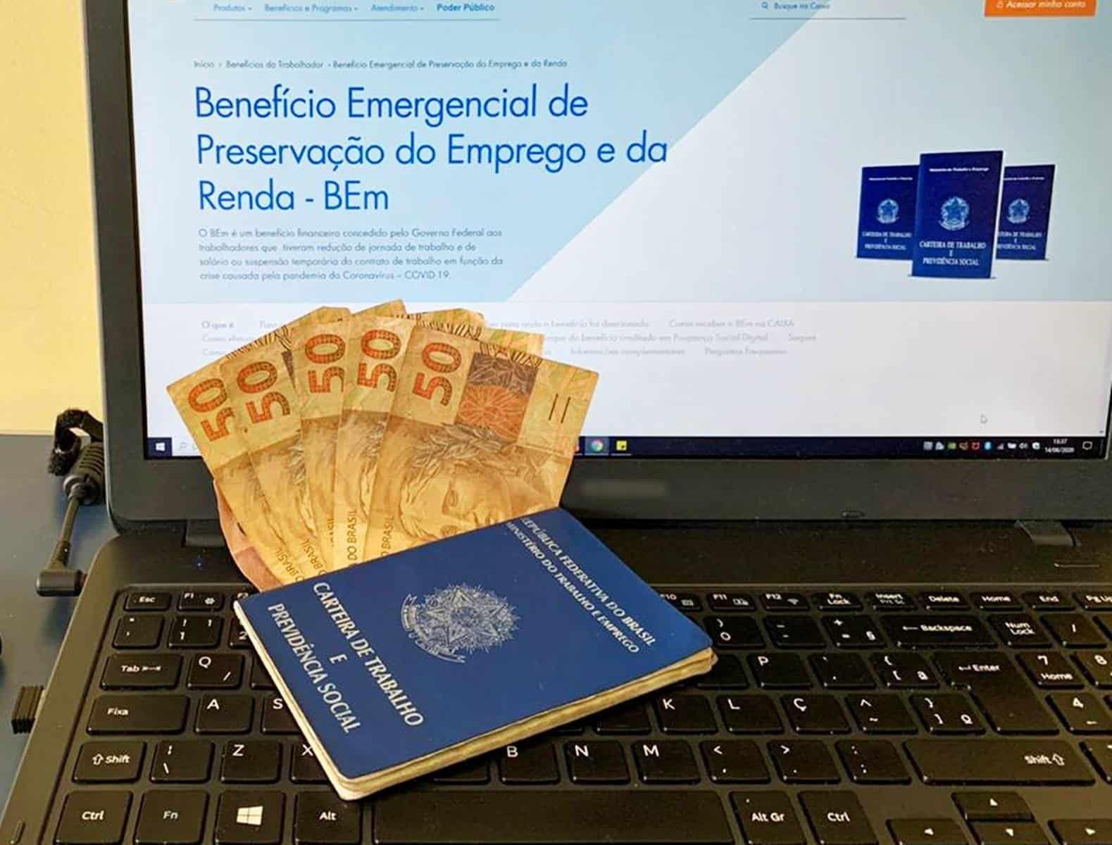 Declaração do Benefício Emergencial (BEm)